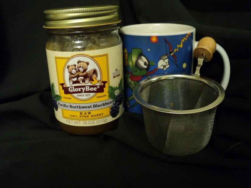 Must have to make good tea.  Cup, good infuser and raw honey (a super food) for sweetening if desired.